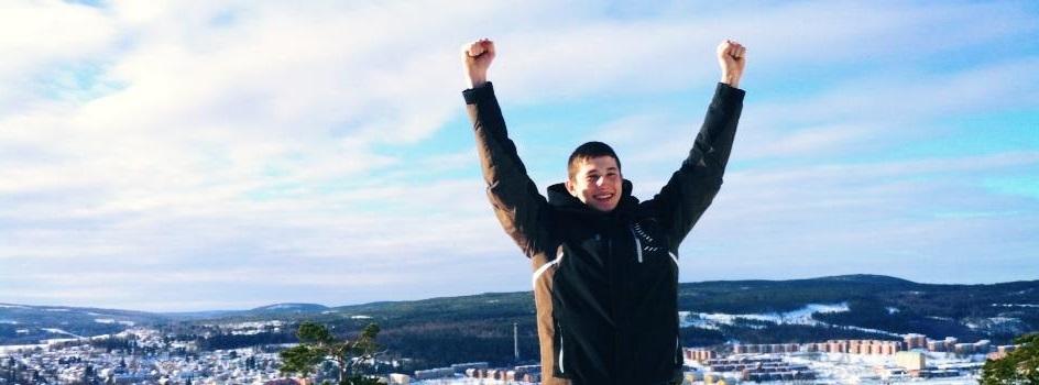 Laziz Sharifov gör segergest, förhoppningsvis snart igen?